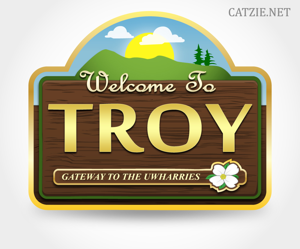 Logo/Illustration - Welcome to Troy 01