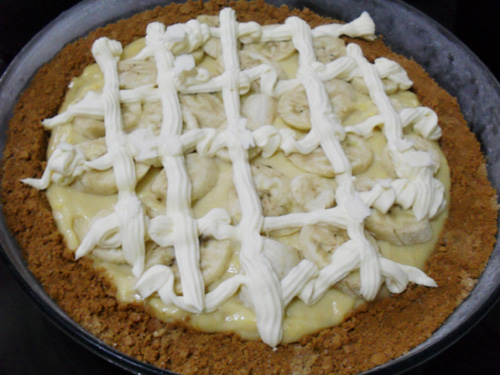 Catzie's Banana Cream Pie