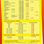 Earnshaw - Victory Liner Deluxe Bus Schedule