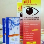 Contact lens for Sept. 2014 to 2015, affordable multipurpose solution with free case, and travel size multipurpose solution