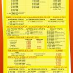 Pasay - Victory Liner Deluxe Bus Schedule