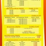 Caloocan - Victory Liner Deluxe Bus Schedule