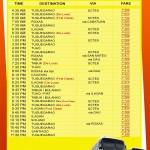 Kamias - Victory Liner Deluxe Bus Schedule