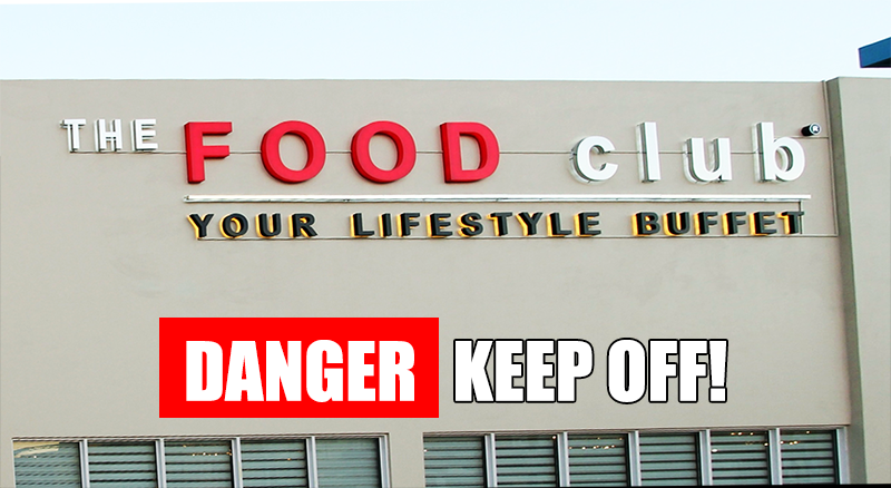 The Food Club, Pasay review. Stay away from this restaurant.
