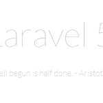 How to install Laravel 5 in Windows with XAMPP
