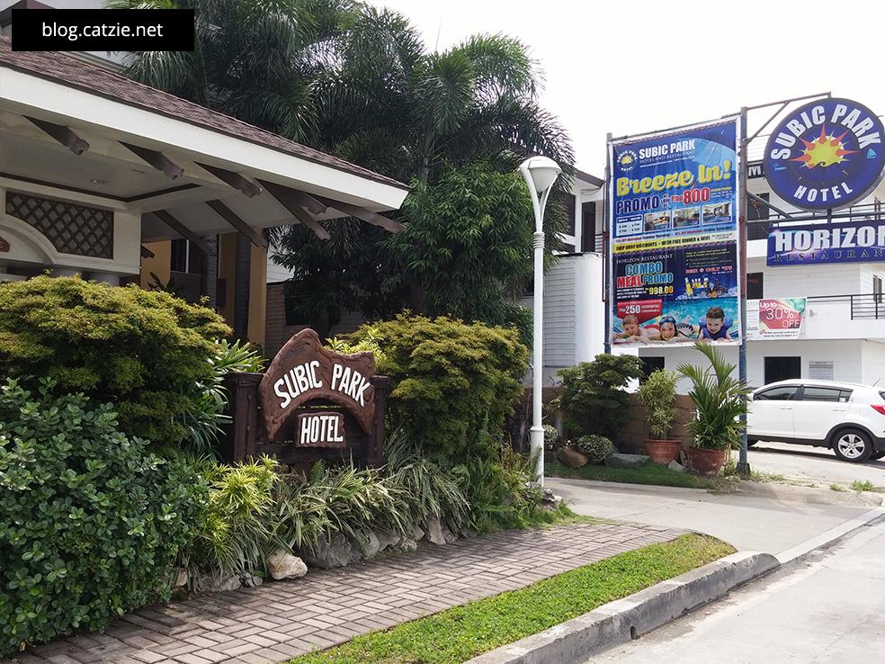Found it! Subic Park Hotel.