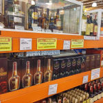 Alcoholic drinks at Puregold Duty Free, Subic