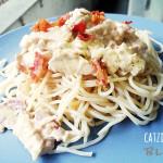 Catzie's Creamy Carbonara Recipe