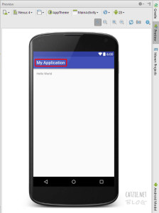 How to change app name in Android Studio