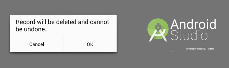 android confirm dialog