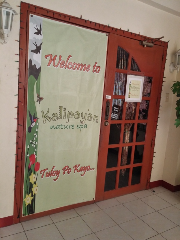 Kalipayan Nature Spa for massage (Rockpoint Hotspring Resort Hotel review)