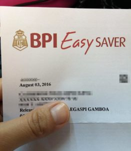 how to use cash deposit machine bpi