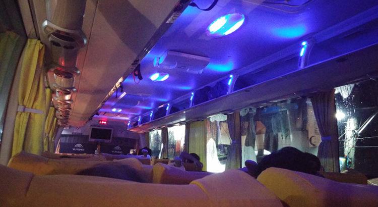 Joy Bus Manila to Baguio (Genesis deluxe bus)