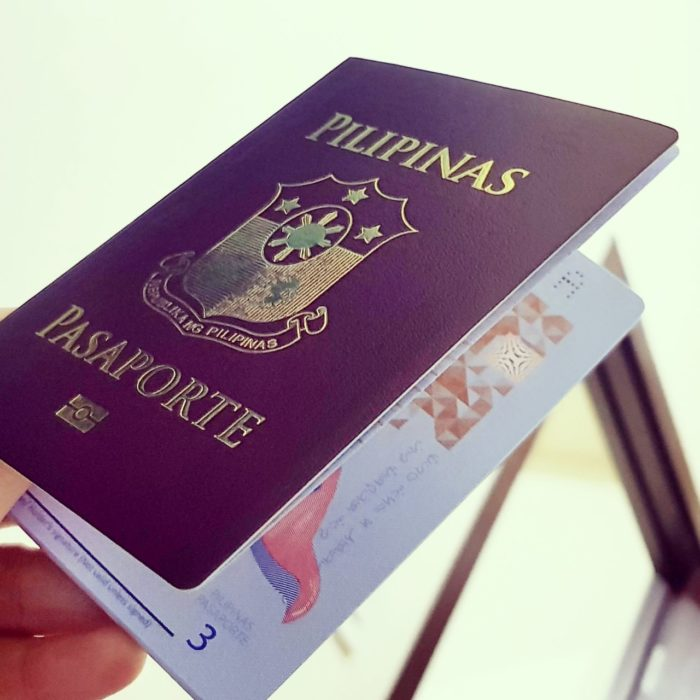 Philippine Passport Renewal 2018